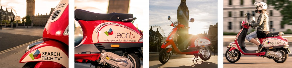 Tech TV Vespa